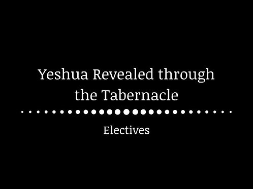 Yeshua revealed through the Tabernacle