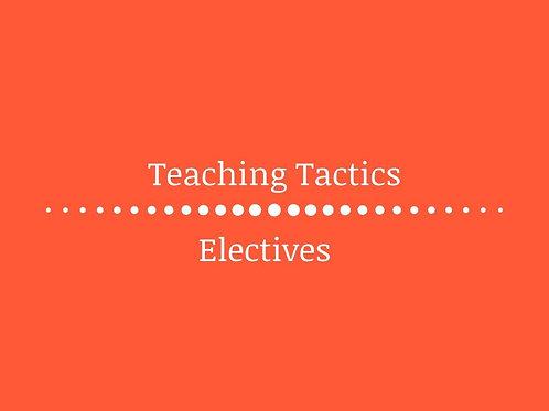 Teaching Tactics