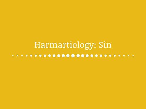 Harmartiology: Sin