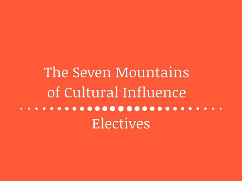 The Seven Mountains of Cultural Influence