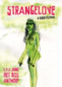 Strangelove festival 2017 poster