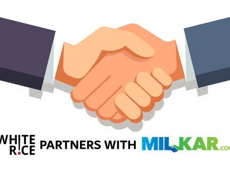 White Rice Partners with Milkar.com for Volunteer Mobilization