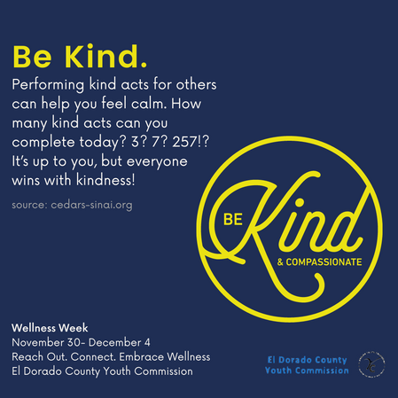 Kindness Friday Dec 4
