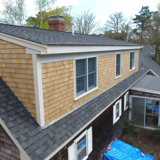 New Roof, Siding and Trim.