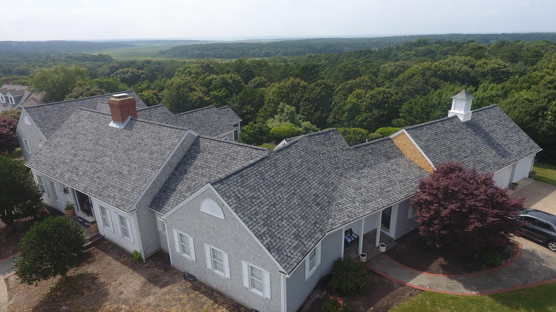 Large Asphalt Roof Replacement