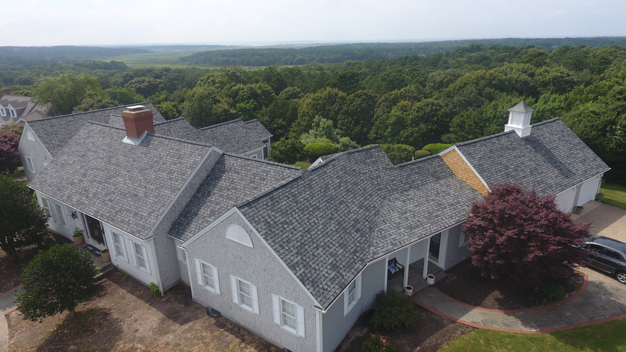 Large Asphalt Roof Replacement