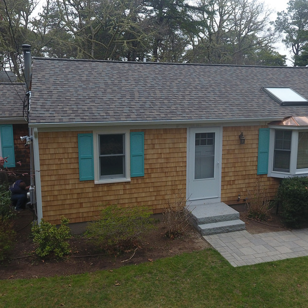 New Roof and Siding, Chatham. MA.