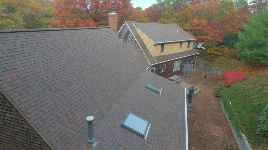 """Heather Blend"" Roof in Yarmouth Port"