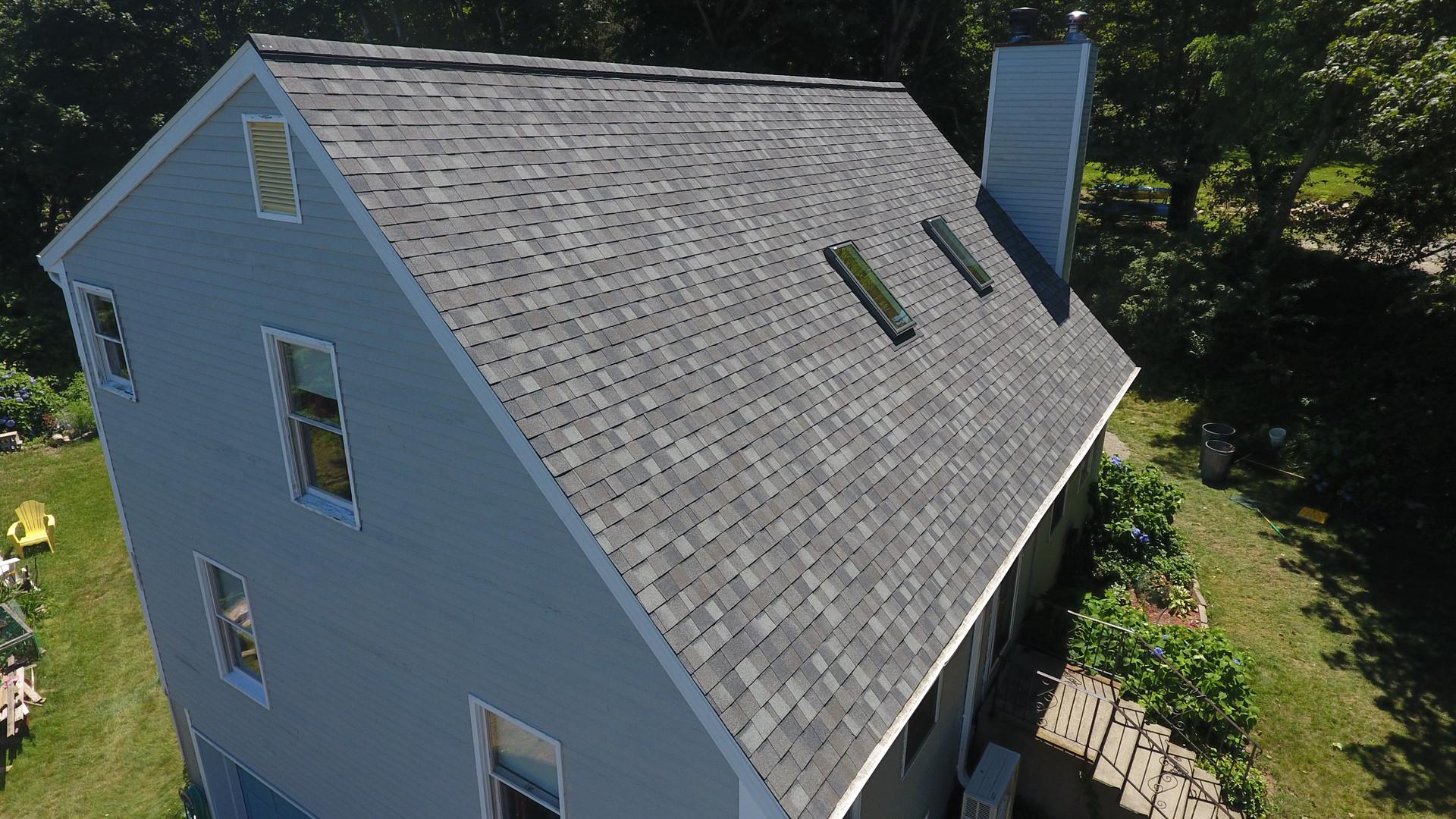 """Granite Gray"" Roof in Eastham"