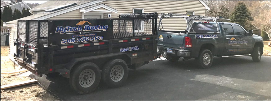 Roofing Truck and Trailer