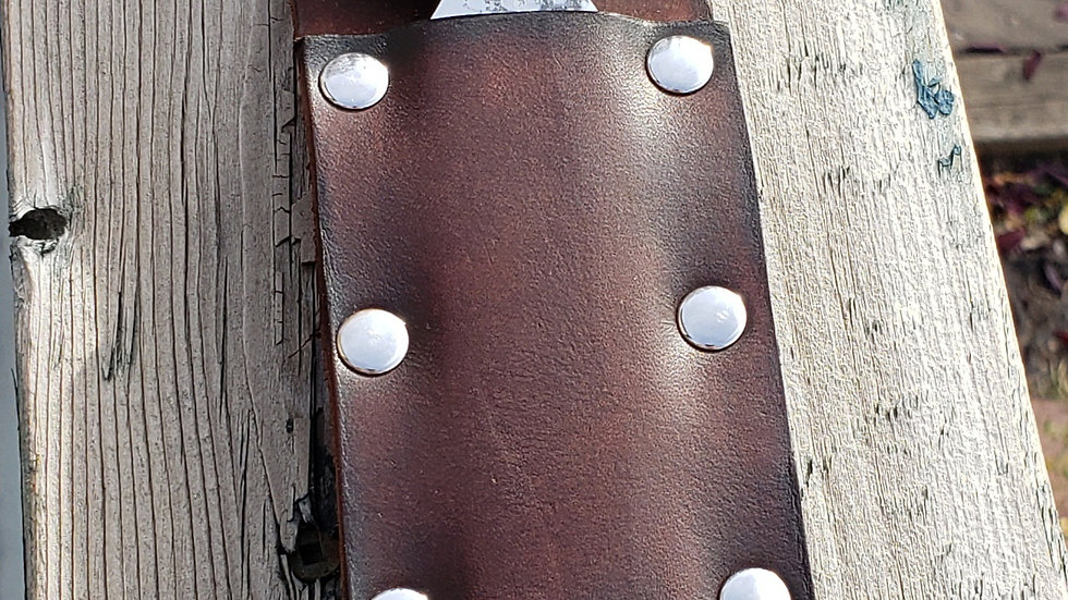 Leather Belt Sheath for Chisels