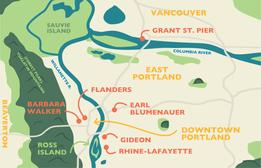 Six New Footbridges Built in the Greater Portland Area Since 2014