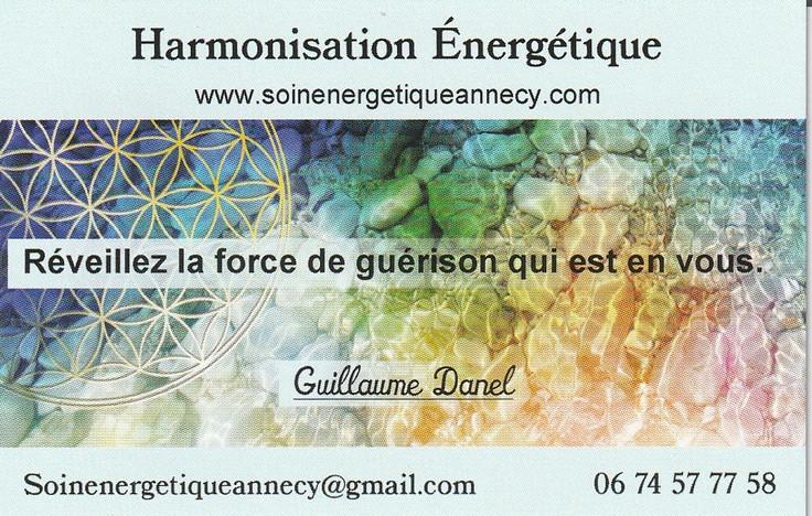 Soin energetique Guillaume Danel