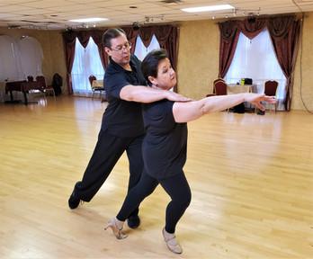 Advanced Level Dance Training for serious Ballroom Dancers.