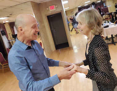 Ron and Vicky love the challenge of dance classes
