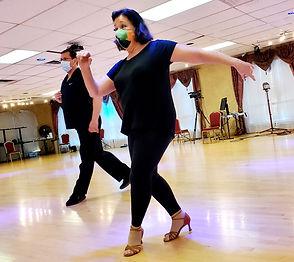private latin dance lesson at bravo dance studio