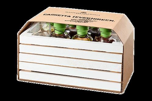 Cassetta Evergreen con 2 calici Mazzetti