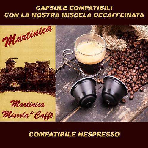 50 Capsule Compatibili Nespresso Decaffeinato