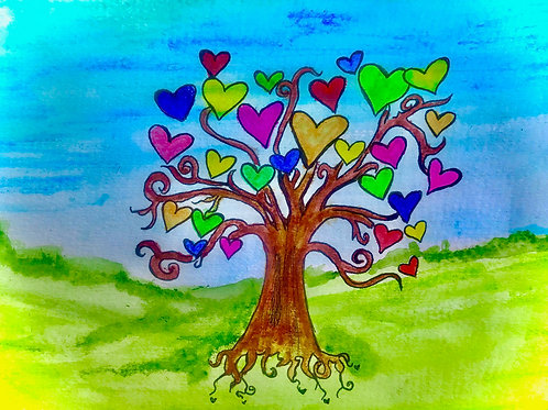 The Heart Tree - Audio Meditation Story. Written and read by Sontaan