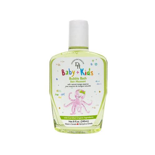Deserving Health 天然有機嬰幼兒泡泡浴 Bubble Bath 240ml