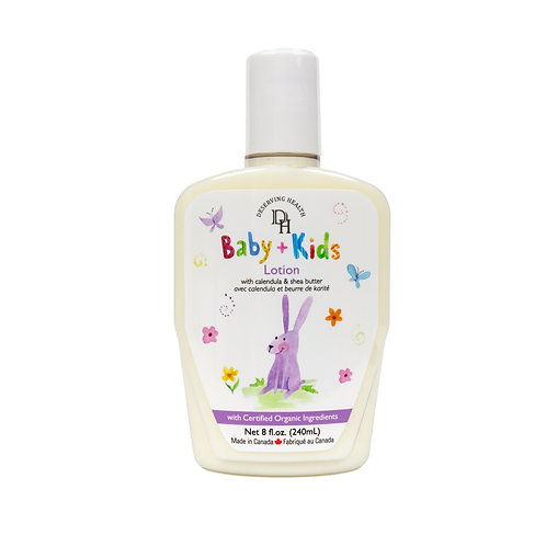 Deserving Health 天然有機嬰幼兒潤膚乳液 Lotion 240ml