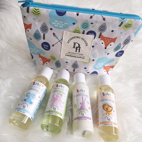 DH嬰幼兒護膚保濕旅行組 Travel Kit C