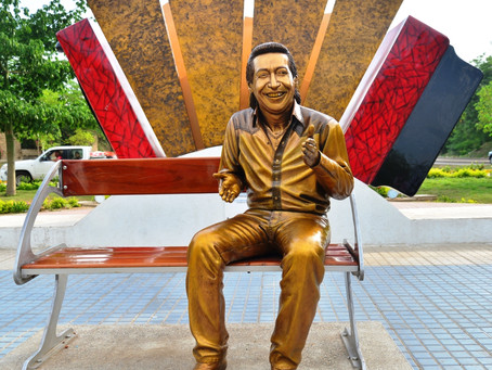 A La Junta le duele lo que están haciendo con la escultura de Diomedes Díaz.