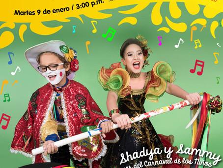 Los Reyes infantiles inician su agenda carnavalera