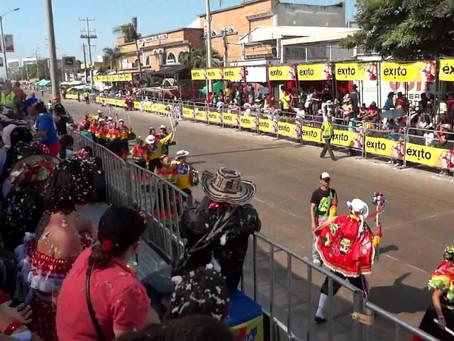 Pico y placa en Barranquilla por montaje de palcos.