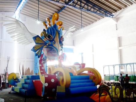 18 carrozas desfilarán en el Carnaval 2018