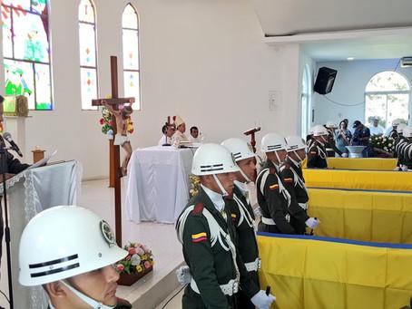 Diversos homenajes se han realizado en nombre de los Policías en Barranquilla.