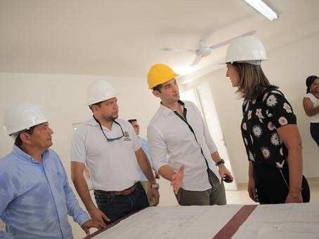 En Bolívar el Ministerio de  Educación invierte en infraestructuras educativas.