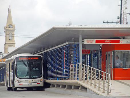 Cambio de rutas de Transmetro para fin e inicio de año