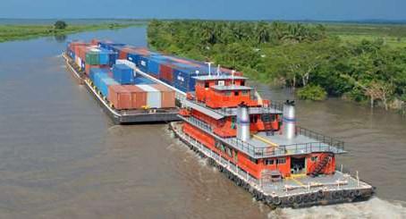Se analiza recortar tramo de la navegabilidad del río Magdalena