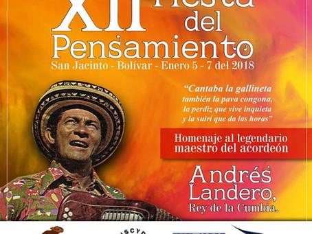 San Jacinto celebrará la Fiesta del Pensamiento del 5 al 7 de enero