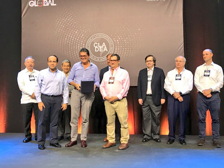 Antonio Celia es premiado como Líder Empresarial Latinoamericano