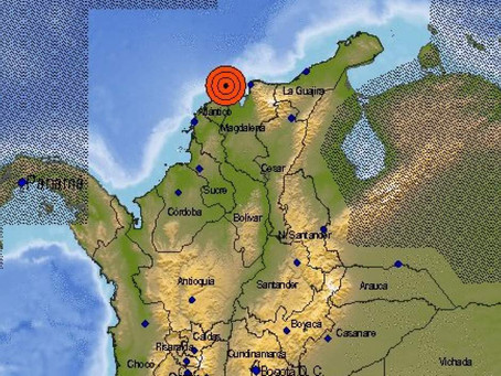 Barranquilla despertó con un sismo de 3.7