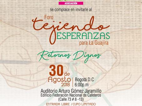Guajiros expondrán sus emprendimientos en el foro  realizado en Bogotá