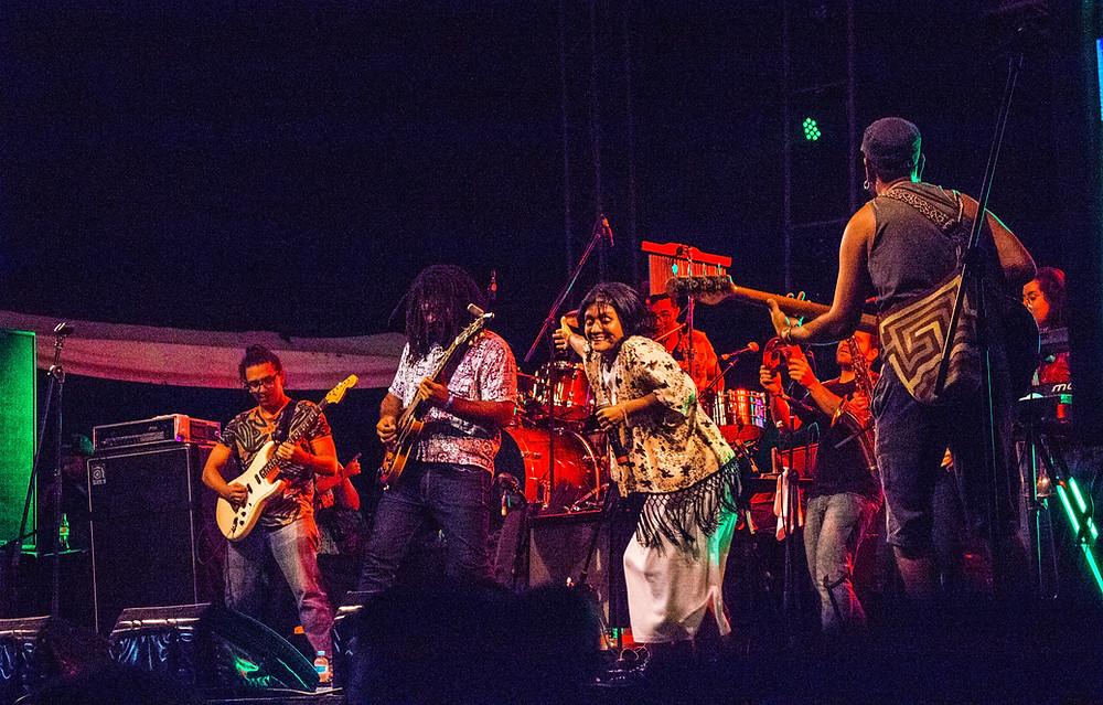 Tubará Reggae en el Concierto de Radiónica. Fotografía: Jorge Ortega-@Ctrlaltgraff