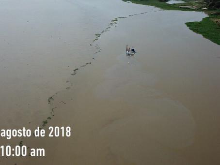 Draga hundida en el río Magdalena no tenia permiso