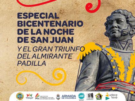 Cartagena celebra 200 años de la Noche de San Juan, hito de la independencia del yugo español