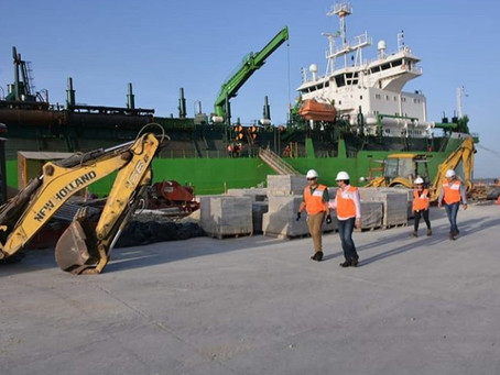Finalizó primera intervención de dragado en canal de acceso al puerto de Barranquilla
