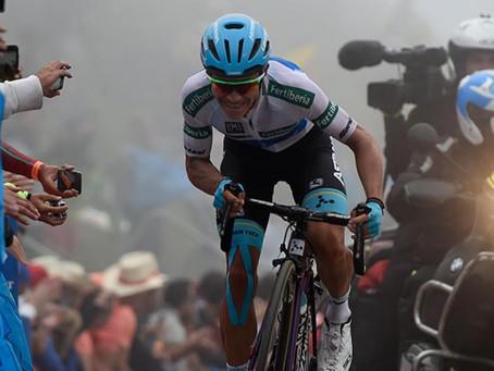 'Superman' López ahora es cuarto en la Vuelta a España