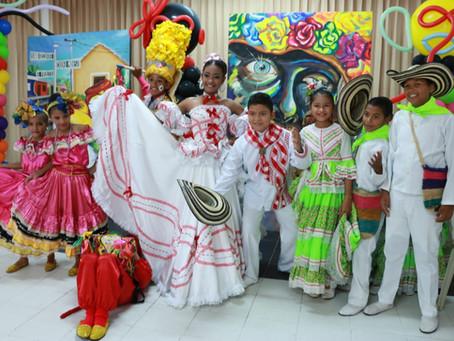 Sharon Sandoval y Ray Molinares, Reyes Infantiles del Carnaval de la 44 2019