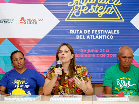 """Conoce el Atlántico a través de la """"Ruta de Festivales 2018"""""""