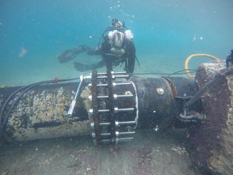 Emisario submarino reparado recupera actividad de buceo y pesca en San Andrés