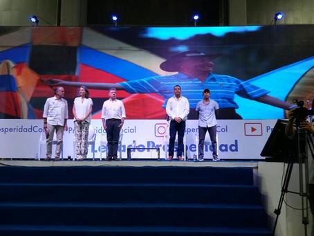 Santos destaca progreso de la educación y la lucha contra la pobreza en Barranquilla