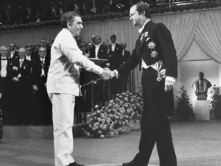 Amigos de Gabo recuerdan lo que pasó en Estocolmo hace 35 años.