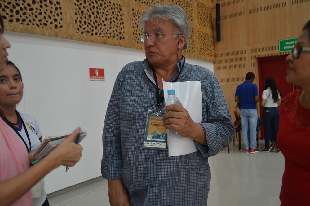 director del programa de Antropología de la Universidad del Magdalena, Fabio Silva Vallejo