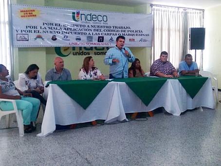 Tenderos protestarán este martes contra Código de Policía